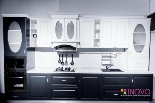 Bucătărie Cleopatra mdf vopsit 6