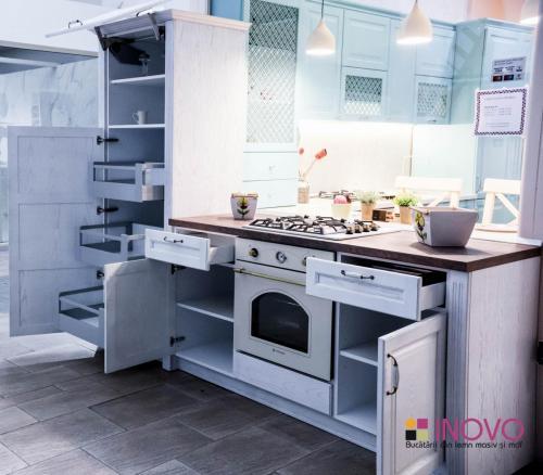 Bucătărie frasin Lorette 3